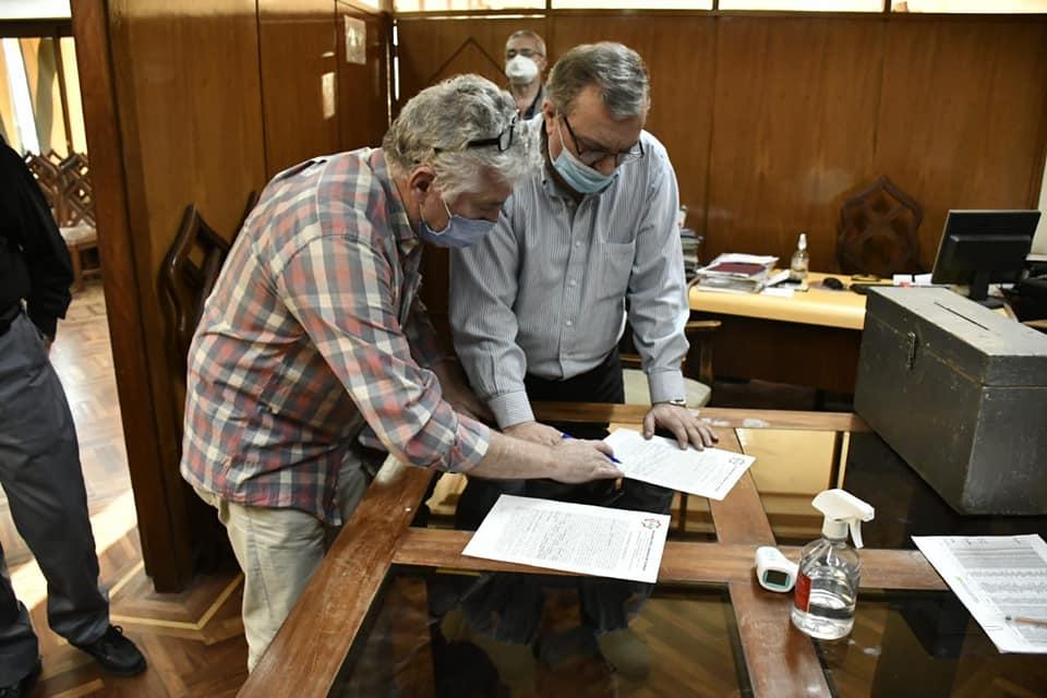 """Hubo Renovación de Autoridades en donde la lista """"Renacer de la cultura Árabe"""" se impuso en votos."""